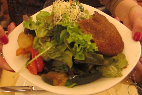 06-Salat mit glasiertem Gemüse